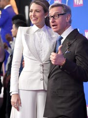 NEW YORK, NY - AUGUST 20:  Blake Lively and Paul Feig