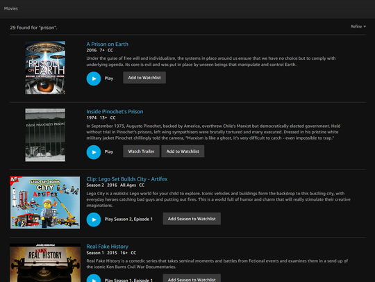 Explore all the different categories of content you