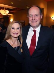 Judge Deanna Johnson and Tennessee Senator Jack Johnson