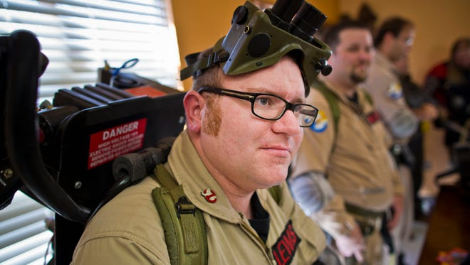 The Arizona Ghostbusters made an appearance at LibCon 2012 in Chandler.