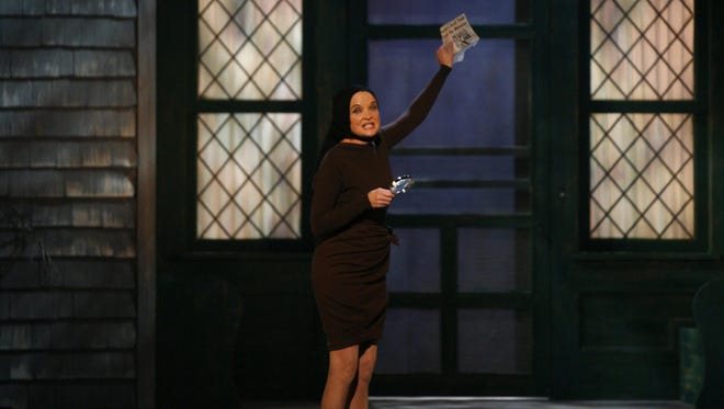 """Christine Ebersole performs as """"Little Edie"""" Beale from """"Grey Gardens"""" at the 61st Annual Tony Awards in 2007. Ebersole, a two-time Tony-winner, will sing at the White Plains PAC gala on Nov. 3, to mark the venue's 15th anniversary."""
