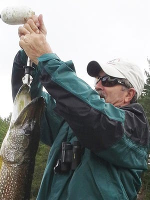 Retired Arkabutla Lake park manager Hal Moore has a passion for fishing in the Boundary Waters of Minnesota and Quetico Provincial Park in Canada.