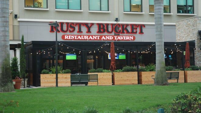 The Rusty Bucket in Naples.