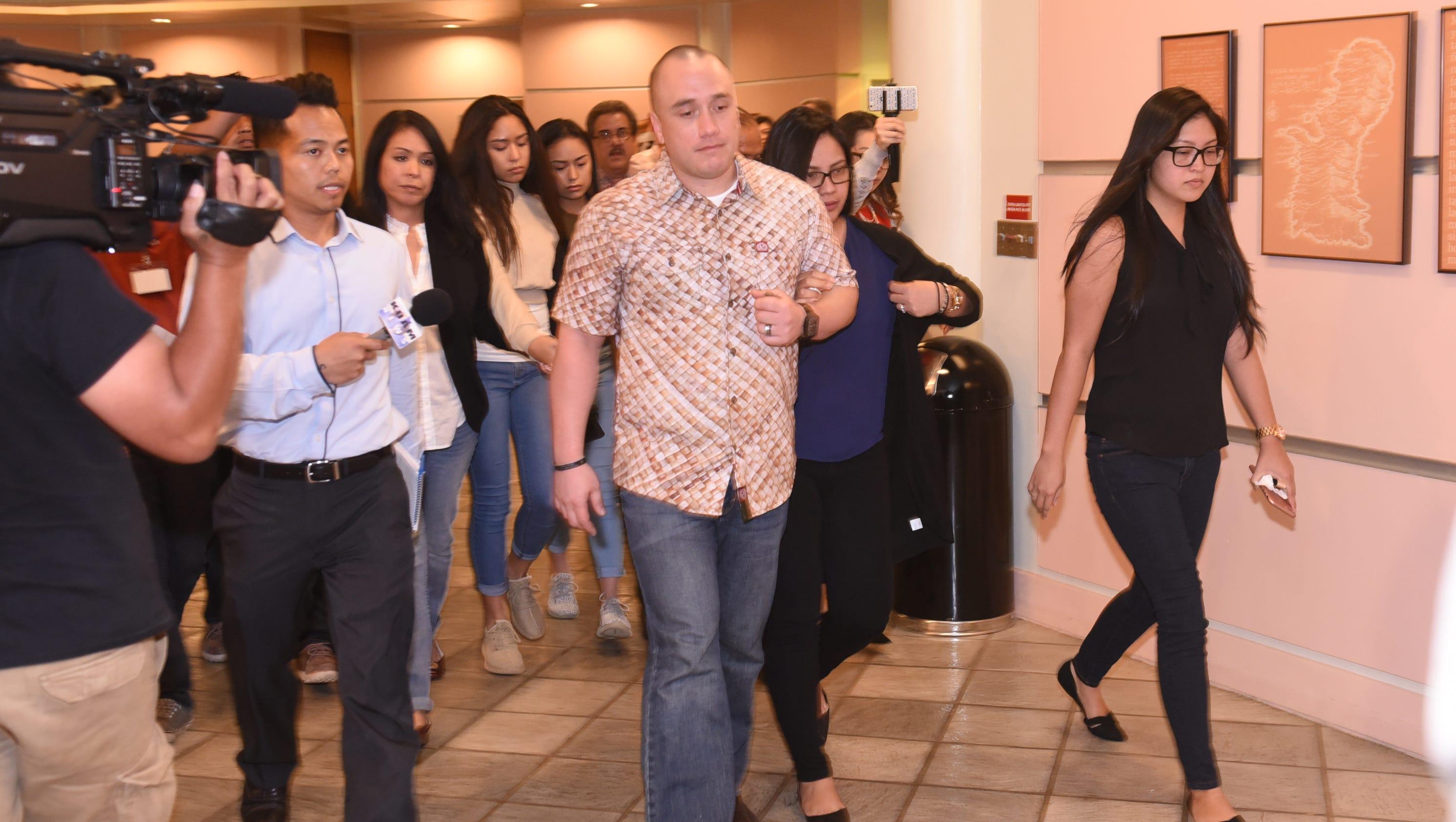 Guam ex-cop awaits sentencing for killing fellow officer