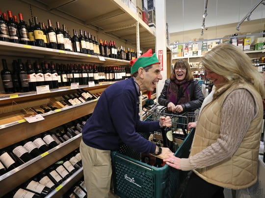 Gary Fisch, the owner of Gary's Wines & Marketplace