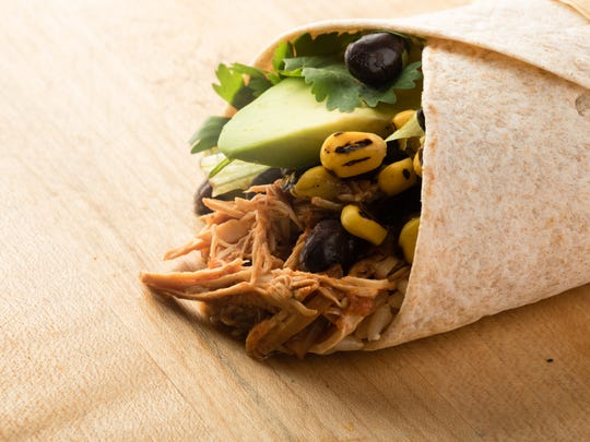 Barbacoa wrap from Just Salad
