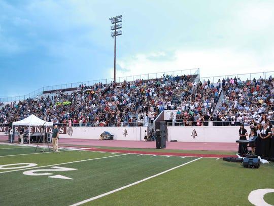 Ysleta High School class of 2017 held its graduation