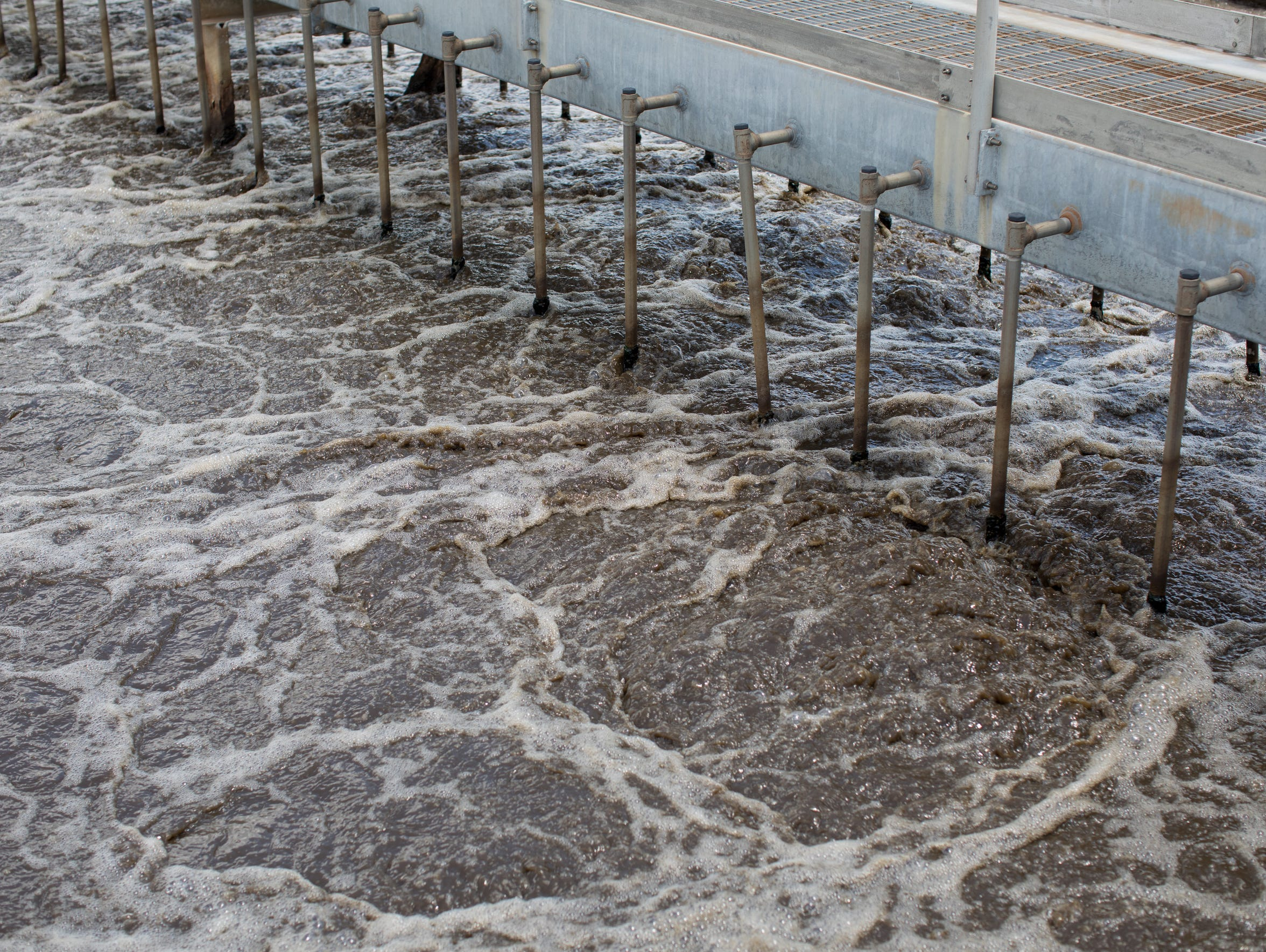 Wastewater collected  in Corpus Christi is treated