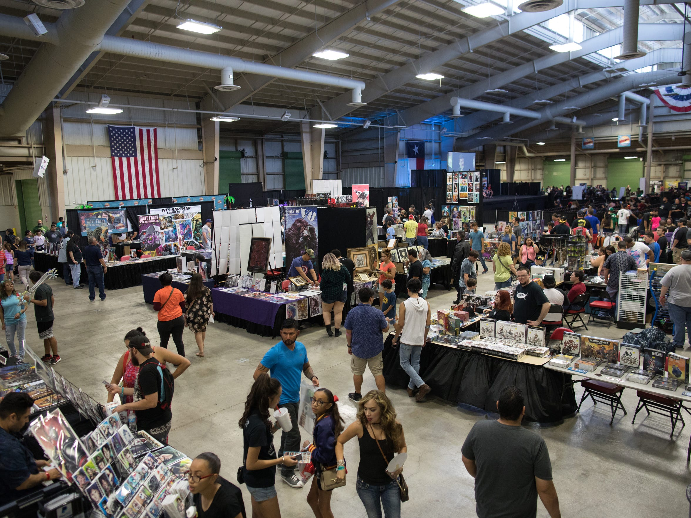 The Corpus Christi Comic Con at Richard M. Borchard Regional Fairgrounds in Robstown on Saturday, July 22, 2017.