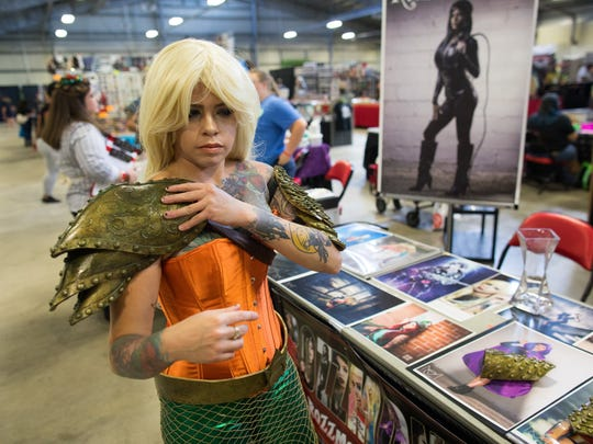 Cosplayer Rozlin Gomez known as Rozzmonster puts on