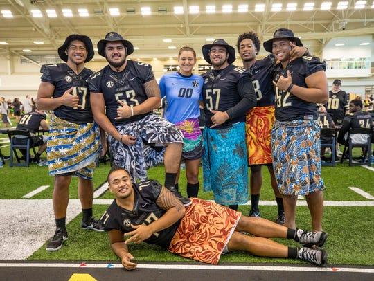 Vanderbilt football's growing number of Polynesian