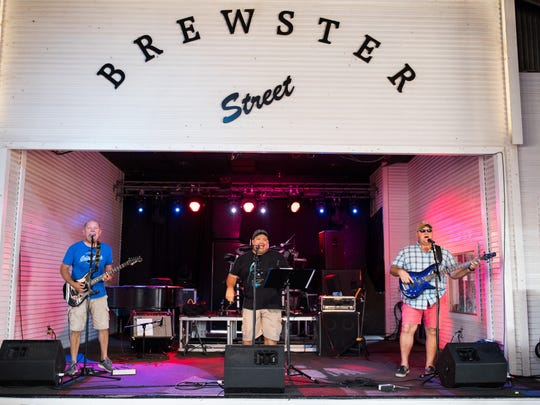 Hard At Play performs at Brewster Street on Saturday, Oct. 14, 2017.