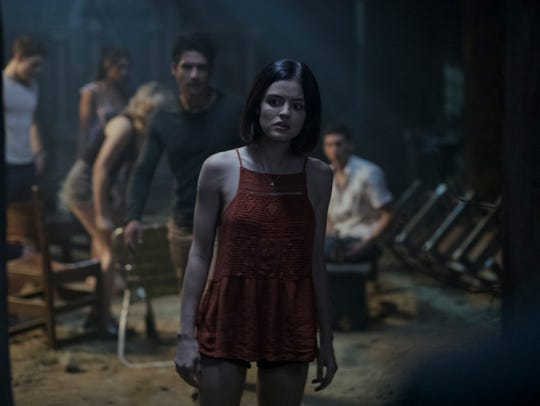 "Lucy Hale stars in the horror thriller ""Truth or Dare."""