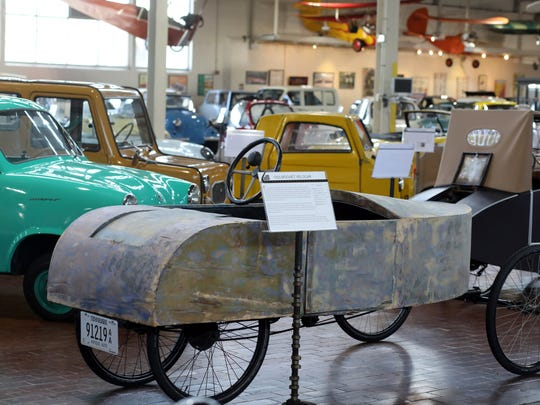 About 34,000 people from all over the world visit the Lane Motor Museum each year to check out the 170 vehicles displayed on the 42,200-square-foot exhibit floor at any given time.