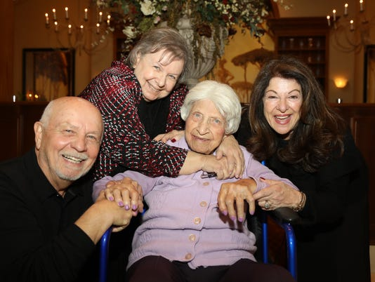 Family and friends of Angelina Russo came to the Il Villagio restaurant to celebrate the 103rd birthday for the East Rutherford native.