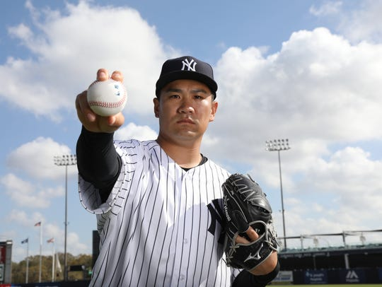 Pitcher, Masahiro Tanaka one of the portraits of this