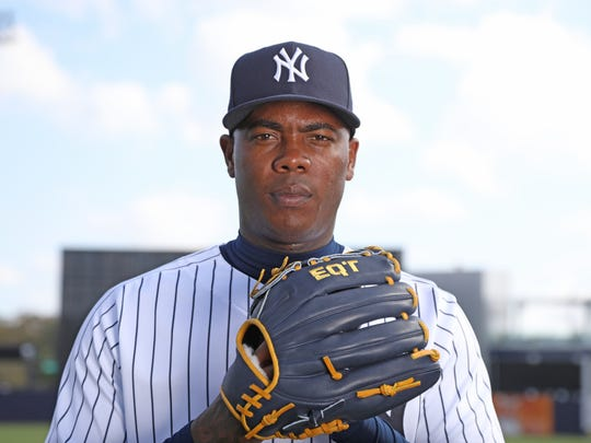 Pitcher, Aroldis Chapman one of the portraits of this