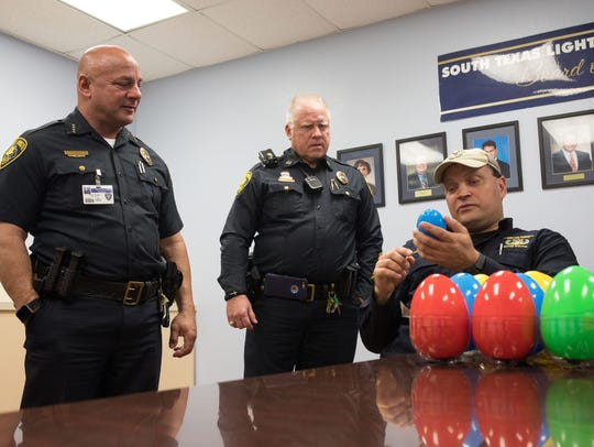 Corpus Christi Police bomb squad team leader Matt Weischwill