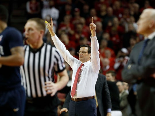 Nebraska coach Tim Miles.