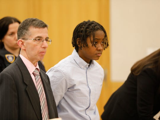 Z'inah Brown of New Rochelle appeared at the Westchester