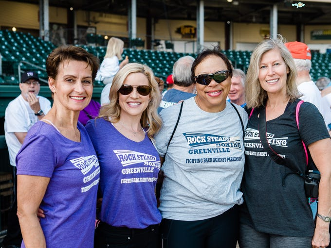 The Strike Out Parkinson's event was held at the iconic
