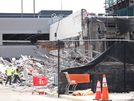 National Wholesale Liqudators demolition