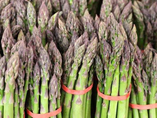 Asparagus from Rolling Ridge Farms, which is located