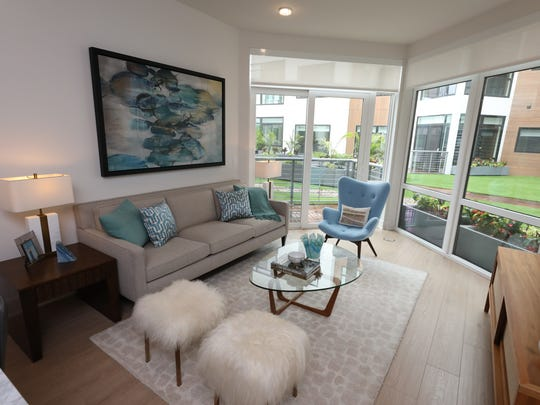 An interior view of one of the units at 1177@Greystone,
