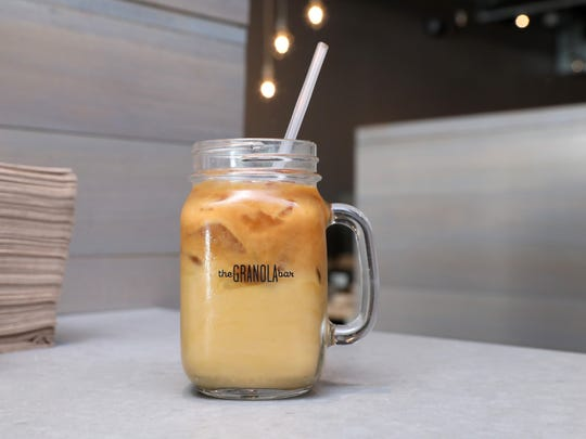 A cold brew at The Granola Bar.  Find them at  18 S.