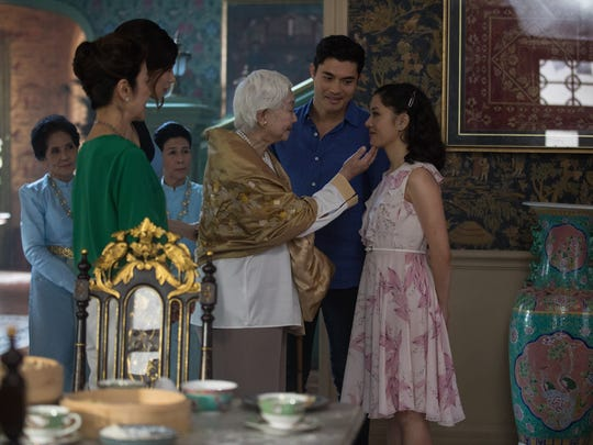 Michelle Yeoh, Gemma Chan and Lisa Lu star as family