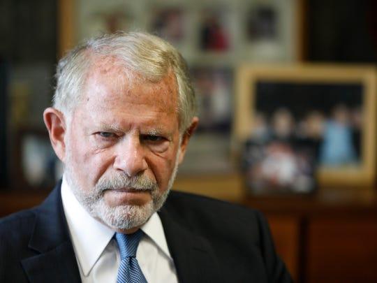 Attorney Martin J. Rosen in his office in White Plains
