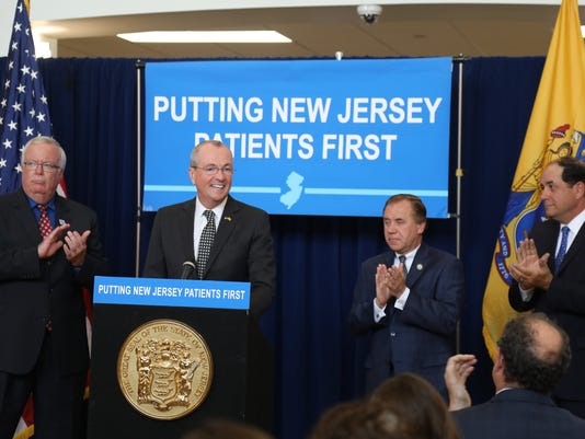 Governor Phil Murphy came to the Woodbridge Community Center to sign a bill that's been debated for a decade, aimed at protecting patients from surprise medical bills when they get care from a doctor or hospital that's not in their insurer's network.