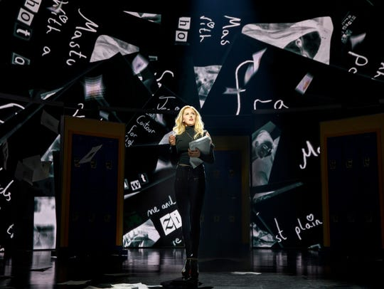 Taylor Louderman stars as Regina George in the Broadway
