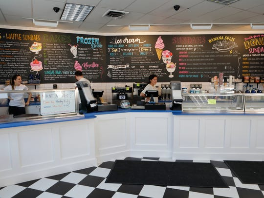 The newly opened Longford's Ice Cream Shop on Palmer