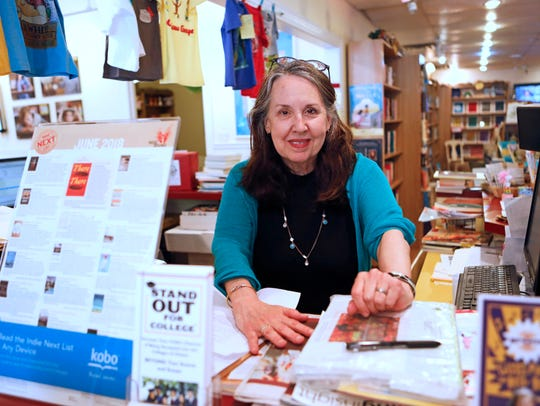 Francine Lucidon, owner of The Voracious Reader in
