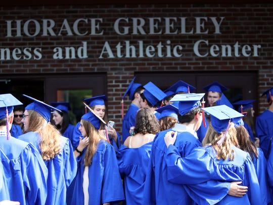 The 87th Horace Greeley High School graduation June