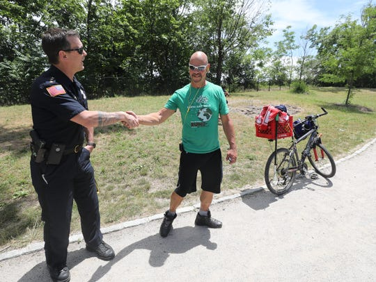 Here is Paterson Police Chief Troy Oswald with Great