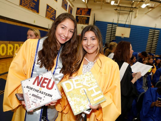 The Mahopac High School Class of 2018 commencement
