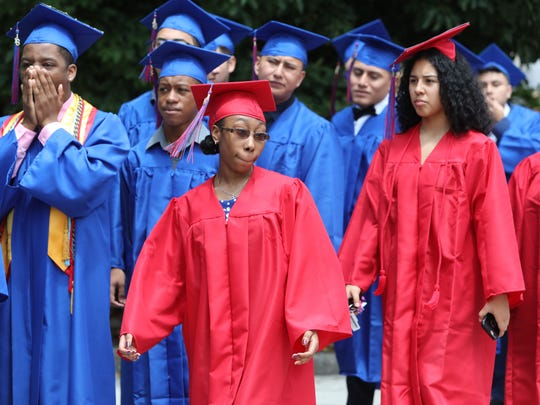 Peekskill High School graduation at Paramount Hudson