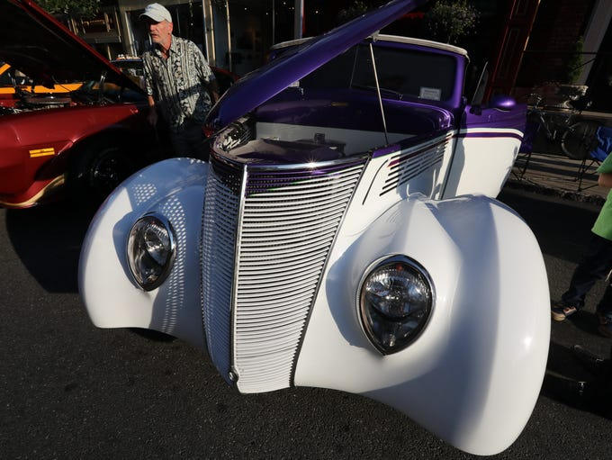 The 7th annual Classic Car Night on Main St. in Nyack