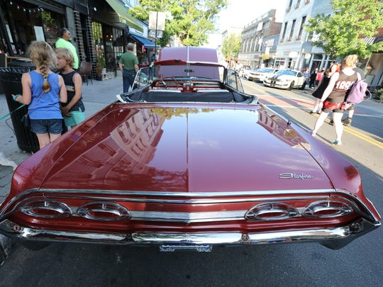 The 7th annual Classic Car Night on Main St. in Nyack July 12, 2018.