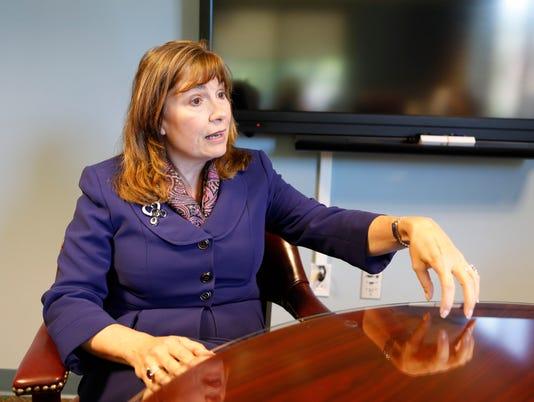 Croton-Harmon School District Superintendent Deborah O'Connell