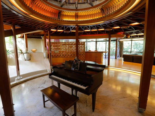Interiors and exteriors of the former home of legendary