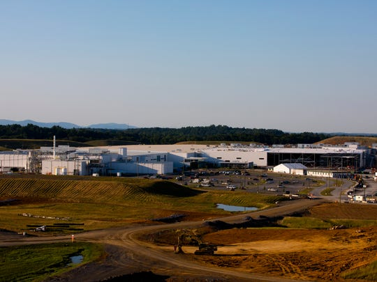 A view of Procter and Gamble new Tabler Station Factory