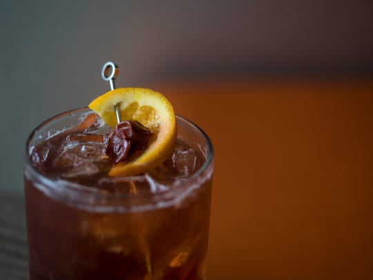 Lost Whale's Wisco Old Fashioned, made with Spanish