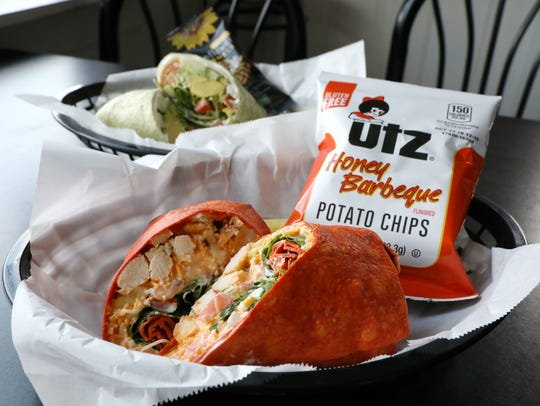 Wraps are a popular item at Ditty's Downtown Deli,