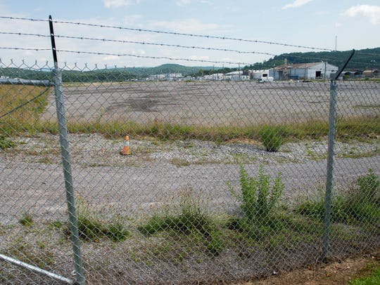 The K-25 site at East Tennessee Technology Park.