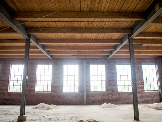 The interior of Kern's Bakery Building on Chapman Highway in Knoxville. Plans call for the 70,000-square-foot building to be turned into a restaurant and entertainment center.