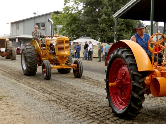 See a parade of vintage tractors, cars and trucks at 1:30 p.m. daily during the Great Oregon Steam-Up.