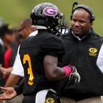 Grambling receiver Dwight Amphy is fighting for snaps behind players like Chester Rogers and Verlon Hunter.